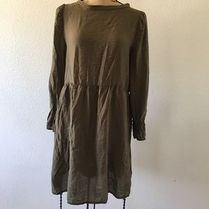 Lacausa Army Green Parkington Dress XS